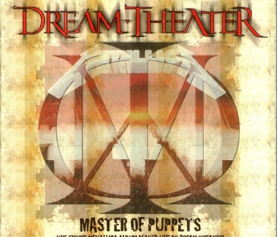 CD - Dream Theater - Master Of Puppets