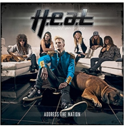 CD - H.E.A.T - Adress The Nation