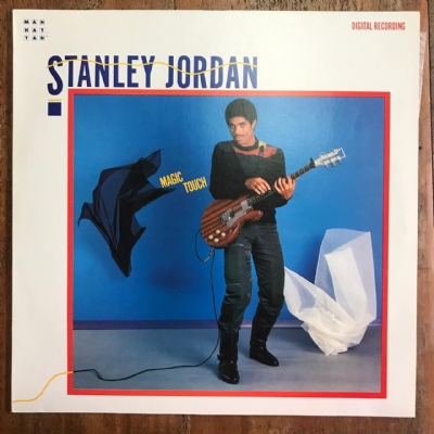 Disco de vinil usado - Stanley Jordan - Magic Touch Lp