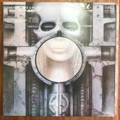 Disco de vinil usado - Emerson, Lake & Palmer - Brain Salad Surgery Lp