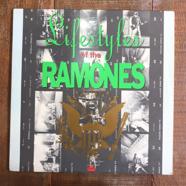 Laser Disc - Ramones - Lifestyles Of IMG-1700142