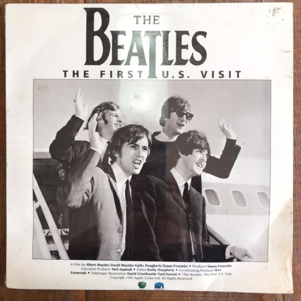 Laser Disc - The Beatles - The First U.S. Visit