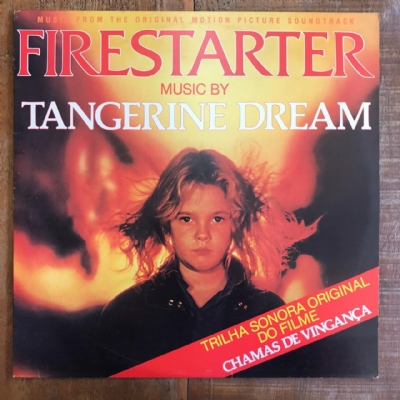 Disco de vinil usado - Tangerine Dream - Firestarter Lp