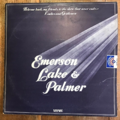 Disco de vinil usado - Emerson, Lake & Palmer - Welcome Back My Friends To The Show That Never Ends Lp Triplo