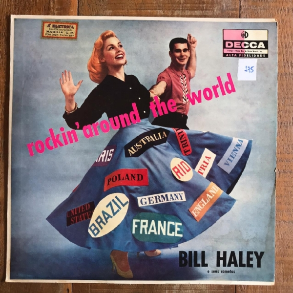 Disco De Vinil Usado - Bill Haley E Seus Cometas - Rockin´Around The World Lp