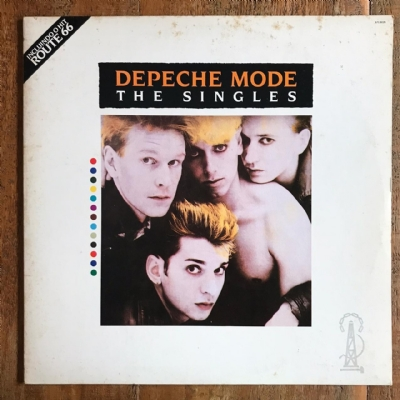 Disco de vinil usado - Depeche Mode - The Singles Lp