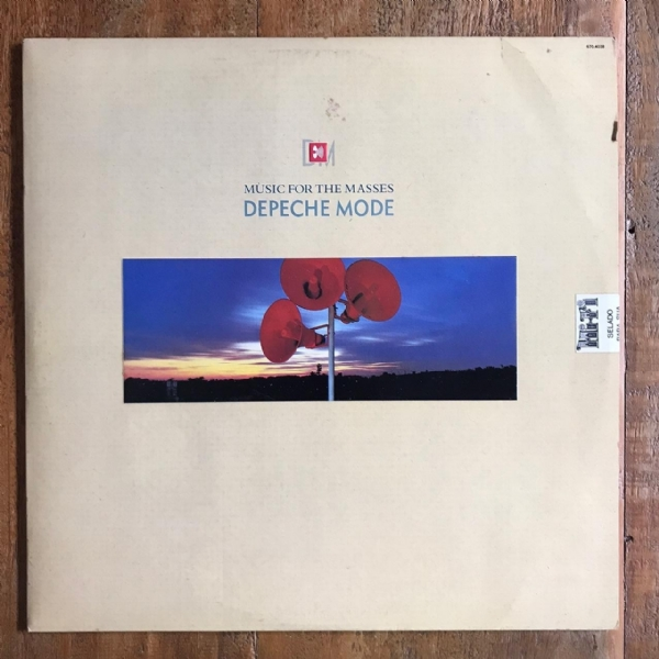 Disco de vinil usado - Depeche Mode - Music For The Masses Lp IMG-1710932