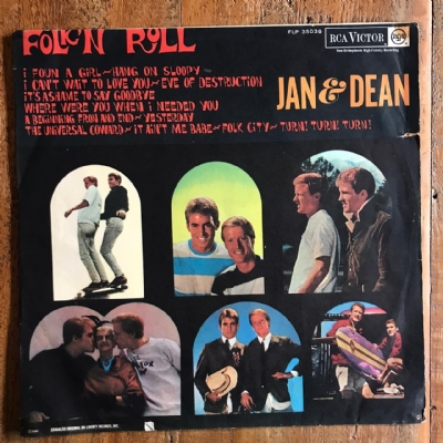 Disco de vinil usado - Jan & Dean - Folk´n roll Lp