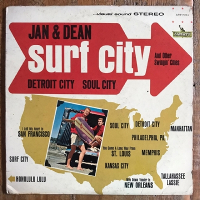 Disco de vinil usado - Jan & Dean - Surf City And Other Swingin´ Cities Lp