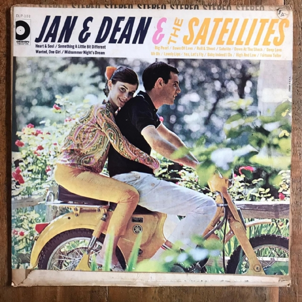 Disco de vinil usado - Jan & Dean - The Heart & Soul Of Lp