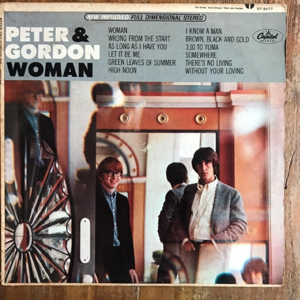 Disco de vinil usado - Peter & Gordon - Woman Lp IMG-1712017