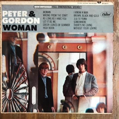 Disco de vinil usado - Peter & Gordon - Woman Lp