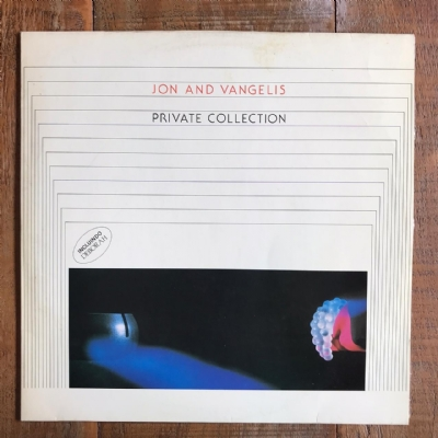 Disco de vinil usado - Jon & Vangelis - Private Collection Lp