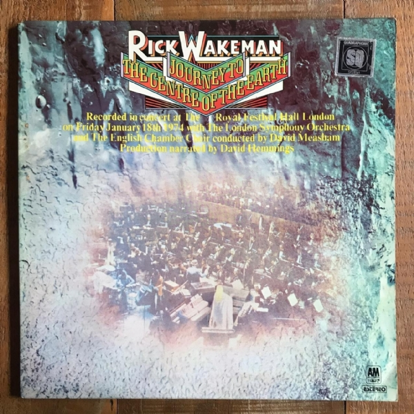 Disco de vinil usado - Rick Wakeman - Journey To The Centre Of The Earth Lp IMG-1712134