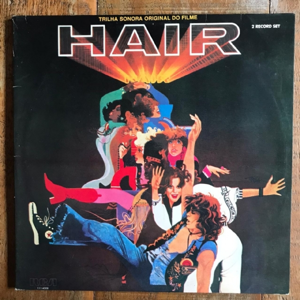 Disco de vinil usado - Hair - Trilha Sonora Original Do Filme Lp Duplo