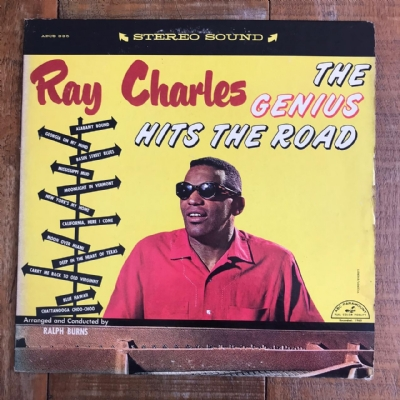 Disco de vinil usado - Ray Charles - The Genius Hits The Road Lp