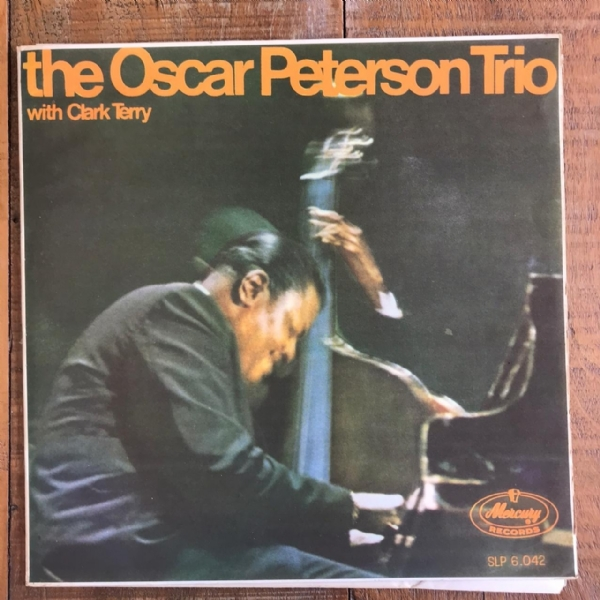 Disco de vinil usado - The Oscar Peterson Trio - With Clark Terry Lp