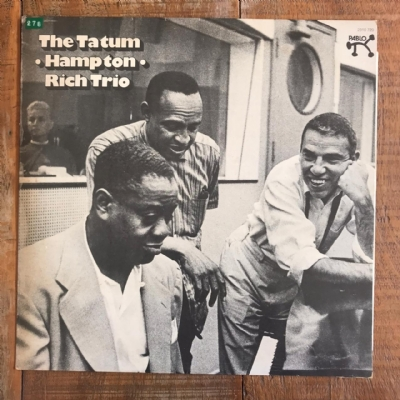 Disco de vinil usado - Tatum, Hampton & Rich Trio - The Tatum - Hampton - Rich Trio Lp