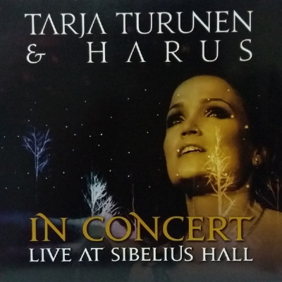 CD - Tarja Turunen & Harus - In Concert Live At Sibelius Hall