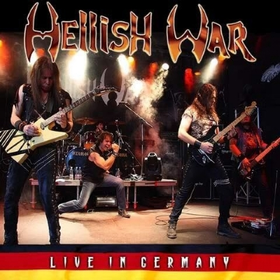 CD - Hellish War - Live In Germany