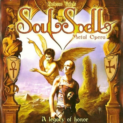 CD - Soulspell - A Legacy Of Honor