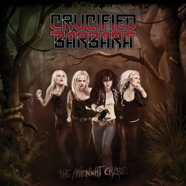 CD - Crucified Barbara - The Midnight Chase