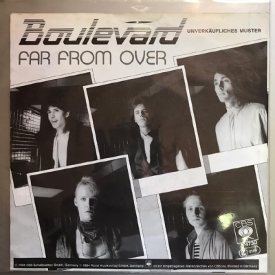 Single De Vinil Usado - Boulevard - Far From Over / High Road