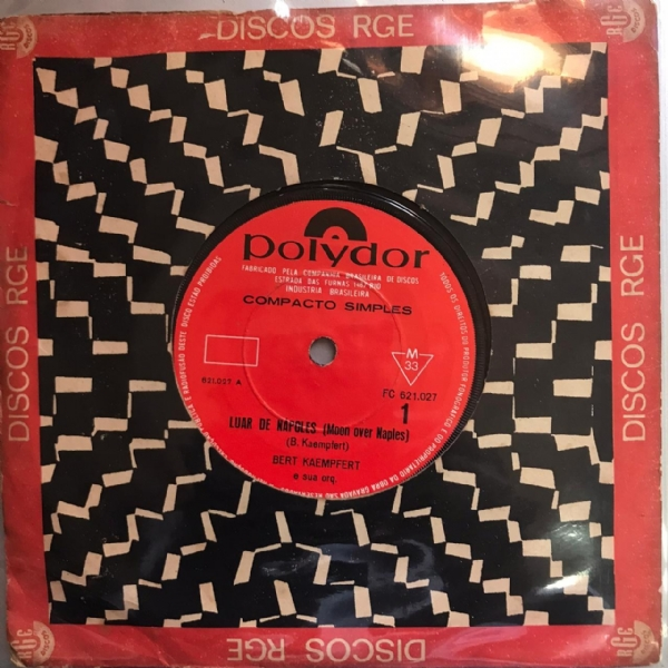 Single De Vinil Usado - Bill Deal & The Rhondels - May I / Day By Day My Love Grows