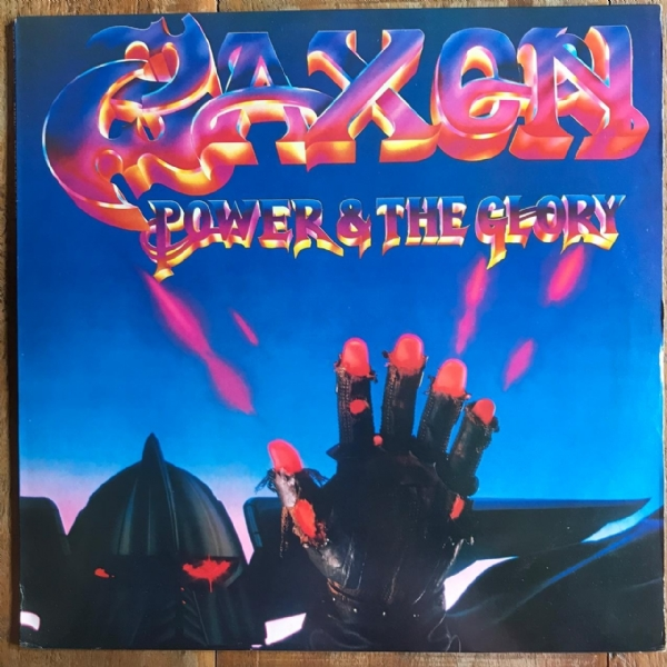 Disco de vinil usado - Saxon - Power & Glory Lp