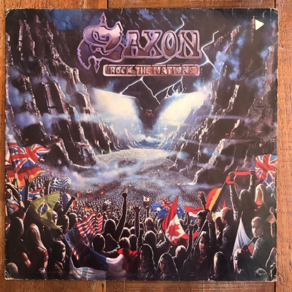 Disco de vinil usado - Saxon - Rock The Nations Lp