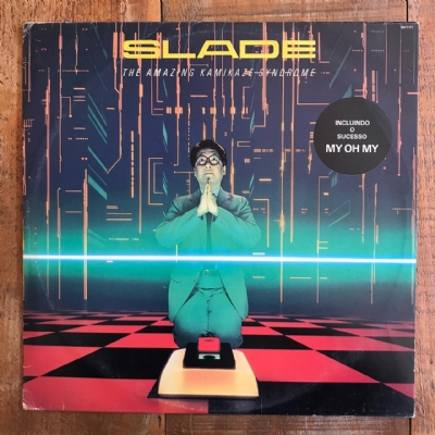 Disco de vinil usado - Slade - The Amazing Kamikaze Syndrome Lp