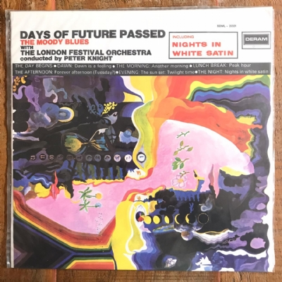 Disco de vinil usado - The Moody Blues - Days Of Future Passed Lp