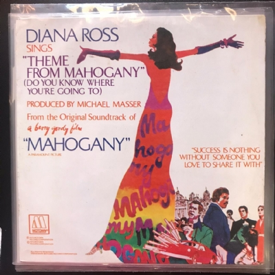 Single De Vinil Usado - Dianna Ross And The Supremes - lote 2 singles