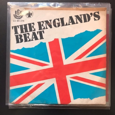 Single De Vinil Usado - The England´S Beat - Hitchin`A Ride / She´S A Man / Doctor Rock / Mystery Lady