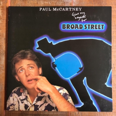 Disco de vinil usado - Paul McCartney - Give My Regards To Broad Street Lp