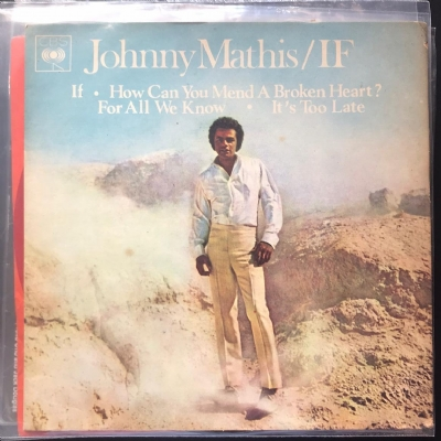 Single De Vinil Usado - Johnny Mathis - If / How Can You Mend A Broken Heart / For All We Know / It´S Too Late