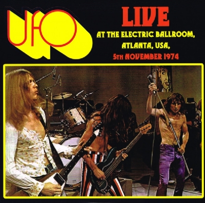 Disco De Vinil Novo - UFO - Live At The Electric Ballroom Lp 180 g