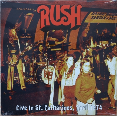 Disco De Vinil Novo - Rush - Live In St. Catharines Lp 180 g