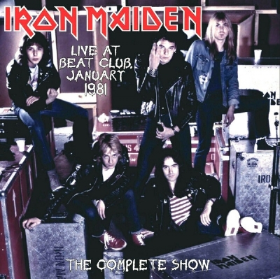 Disco De Vinil Novo - Iron Maiden - Live At Beat-Club Germany 1981 Lp 180 g