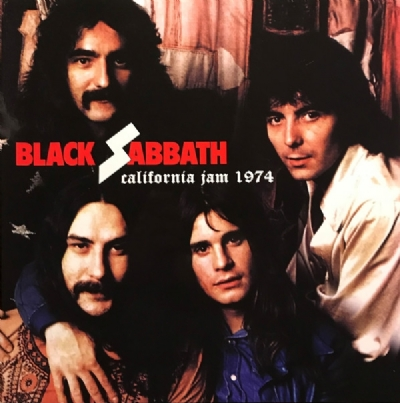 Disco De Vinil Novo - Black Sabbath - California Jam 1974 Lp 180 g
