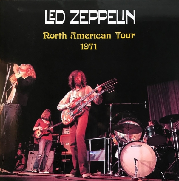 Disco De Vinil Novo - Led Zeppelin - North American Tour 1971 Lp Duplo 180 g