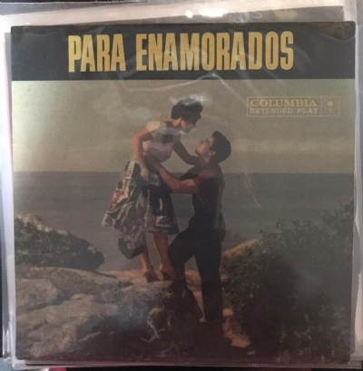 Single De Vinil Usado - Para Enamorados - Theme For Young Lovers / Greenfields / Sons And Lovers / My Ove For You