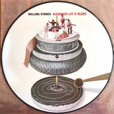 Disco De Vinil Novo - The Rolling Stones - Alternate Let It Bleed Lp Picture Disc