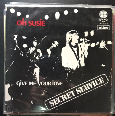 Single De Vinil Usado - Secret Service - Oh Susie / Give Me Your Love