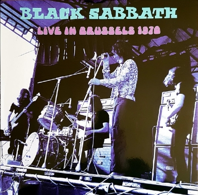 Disco De Vinil Novo - Black Sabbath - Live In Brussels 1970 Lp 180 g