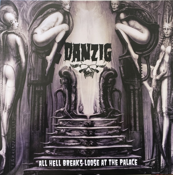 Disco De Vinil Novo - Danzig - All Hell Breaks Loose At The Palace lp Colorido IMG-1762313