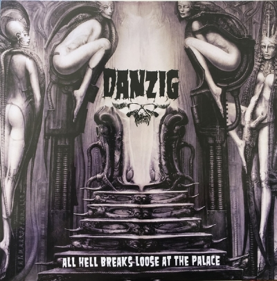 Disco De Vinil Novo - Danzig - All Hell Breaks Loose At The Palace lp Colorido