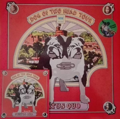 Disco De Vinil Novo - Status Quo - Dog Of Two Head Tour Lp Colorido + CD