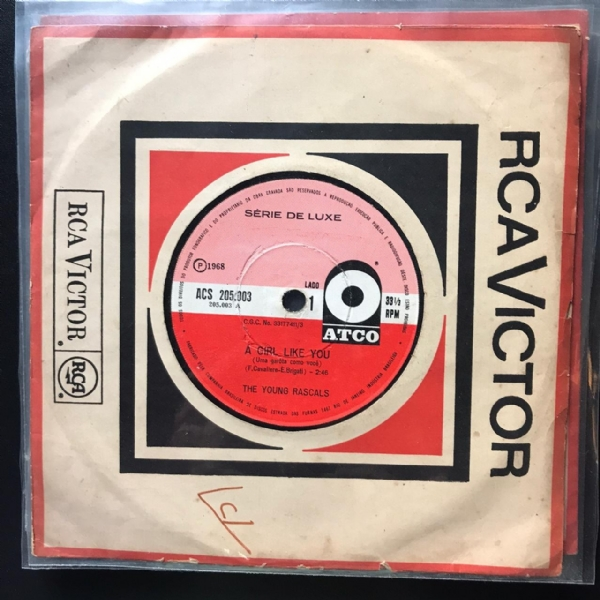 Single De Vinil Usado - The Young Rascals - Lote 2 Singles