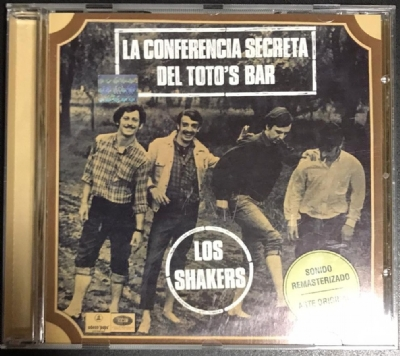 CD usado - Los Shakers - La Conferencia Secreta Del Toto's Bar